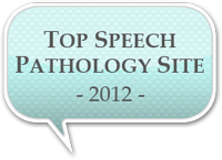 Top Speech Pathology Site 2012