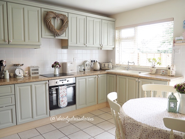 Video My Diy Country Cottage Kitchen Make Over Dainty