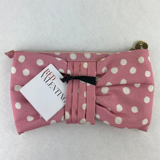 RED Valentino Pink Polka-Dot Pouch