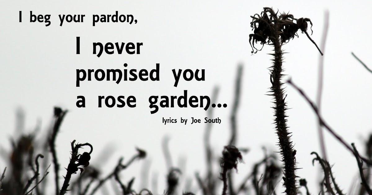 Gnist I Never Promised You A Rose Garden
