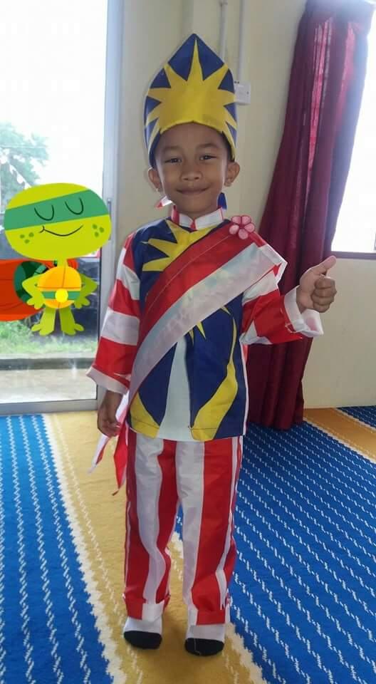 It S My Life Idea Baju Hari Merdeka Kebangsaan Kanak Kanak