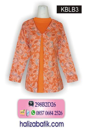 KBLB3 Baju Batik Kerja, Toko Baju Online, Mode Baju Batik, KBLB3