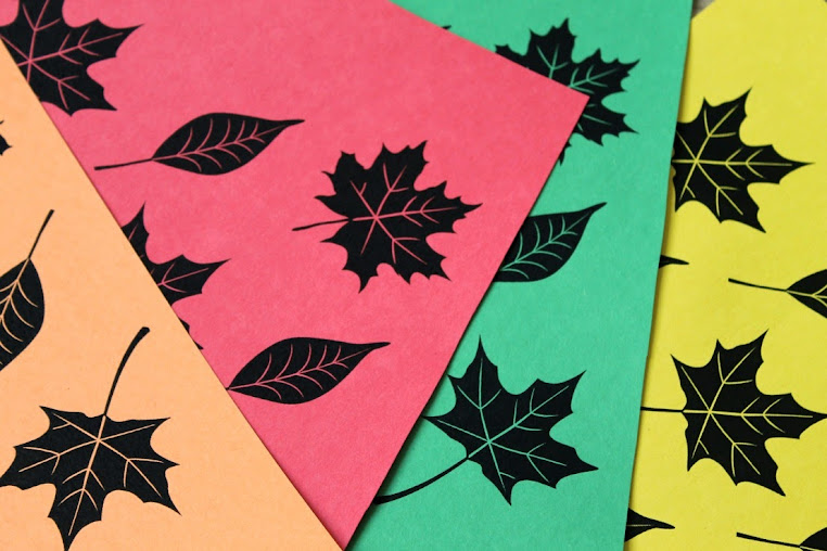 Print out leaves and write on what you're thankful for