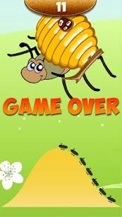 Mravenci vs včela - náhled