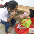 Medical Check up for Nursery Evening Section at Witty World, Chikoowadi (2017-18)