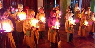 Santri-TPA-Maryatul-Qibtiyyah-Menggelar-Doa-Bersama-untuk-Mendiang-Yuyun