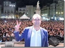 Il sindaco Luigi De Magistris