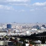 Observatoire de Meudon : vue sur Paris depuis la Terrasse
