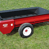 Millcreek offers two Full-Size manure spreaders. Models 97 & 127 both come with a PTO beater drive.