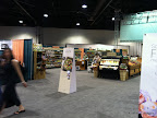 As the main race sponsor, Publix had a huge set up at the Expo. They basically recreated an entire grocery store!