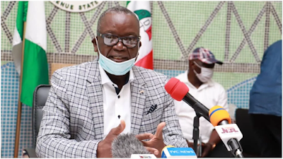 Benue Governor, Ortom tests positive for COVID-19