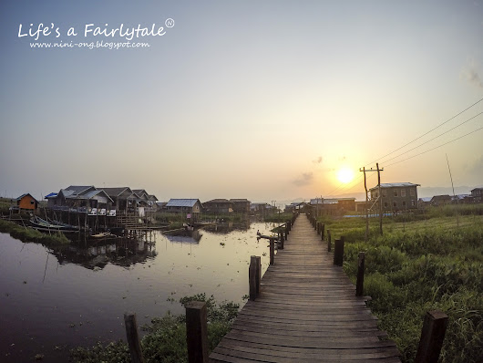 A Peaceful Yet Beautiful Village in Myanmar - Inle Lake