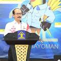 Meurah Budiman membuka kegiatan Monitoring dan Evaluasi