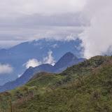 Les Andes (vue vers le Nord) entre El Limonal et la Merced de Buenos Aires, 2600 m (Imbabura, Équateur), 24 novembre 2013. Photo : J.-M. Gayman