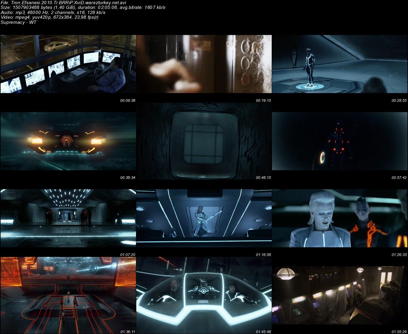 Tron Efsanesi (TRON: Legacy) - 2010 Türkçe Dublaj BRRip Tek Link indir