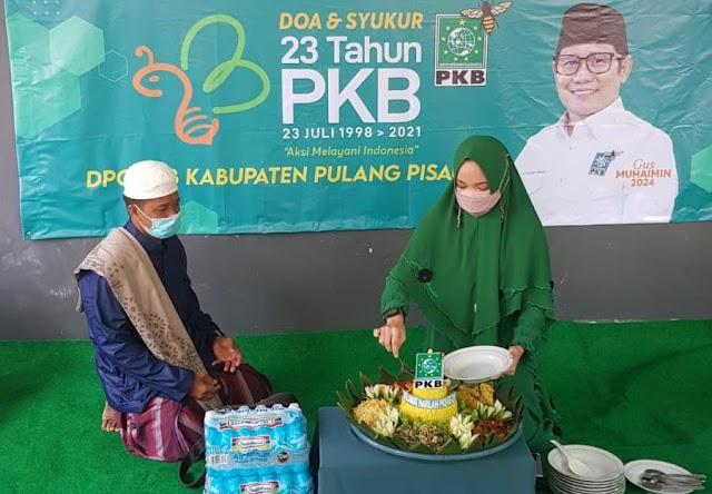 Harlah PKB ke-23, Fraksi PKB Pulpis Gelar Doa dan Sukuran Bersama
