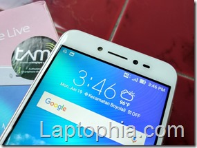 Desain Asus Zenfone Live ZB501KL