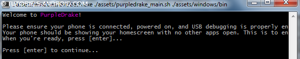 ROOT son LG G3 avec PurpleDrake