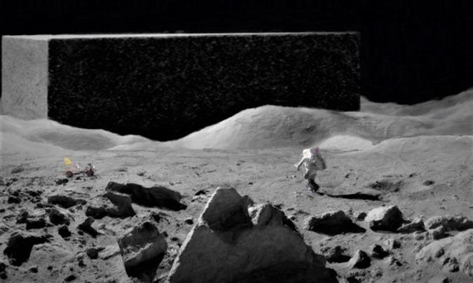 A verdade sobre OVNIs e estruturas extraterrestres na Lua