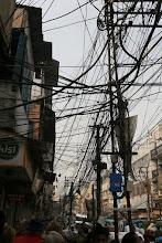 Photo: Un réseau très dense!