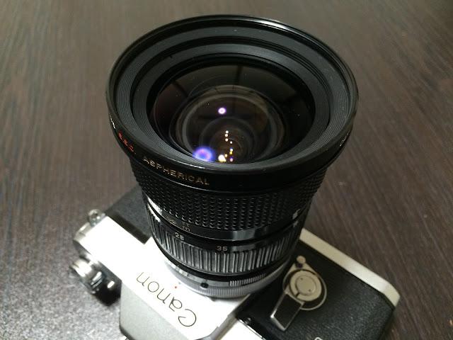 キヤノンfd24〜35mm f3.5アスフェリカル