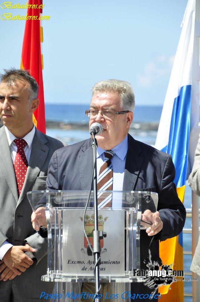 Inauguración del Paseo Marítimo los Charcones