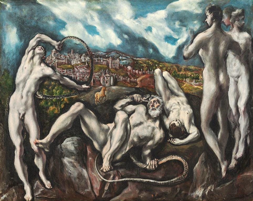 El Greco - Laocoön