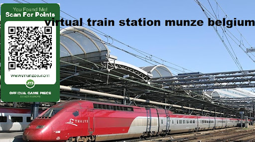 Belgium station Train Munzee