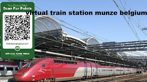 Belgium station Train Munzee