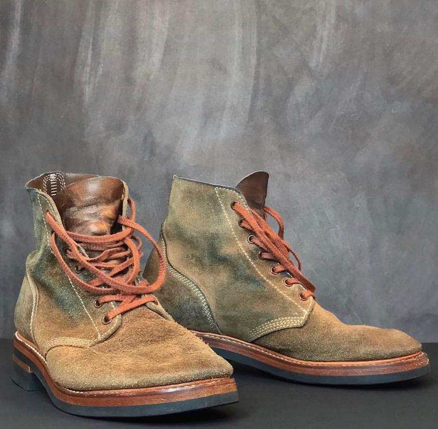 6ffa8ace1027d Vintage Engineer Boots  REVIEW  JOHN LOFGREN M-43 SERVICE SHOES