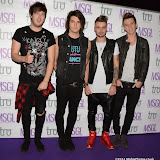 WWW.ENTSIMAGES.COM -   Room 94   arriving at      The MediaSkin Gifting Lounge at Stamp 79 Oxford Street London November 6th 2014                                                 Photo Mobis Photos/OIC 0203 174 1069