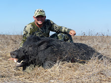 Mr Anderson with a nice wild boar taken in October