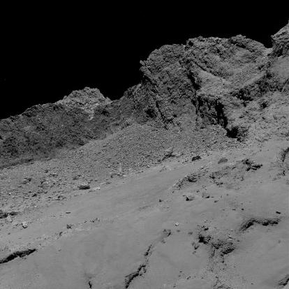 cometa 67P Churyumov-Gerasimenko
