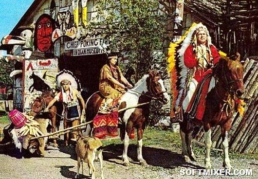 Загадка судьбы: как советский летчик стал вождем индейского племени