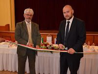 Skapinyecz Péter, a Magyar Nemzeti Kereskedőház Közép-európai Kereskedelemfejlesztési Hálózat igazgatója és Környi Zoltán, a párkányi iroda vezetője.JPG