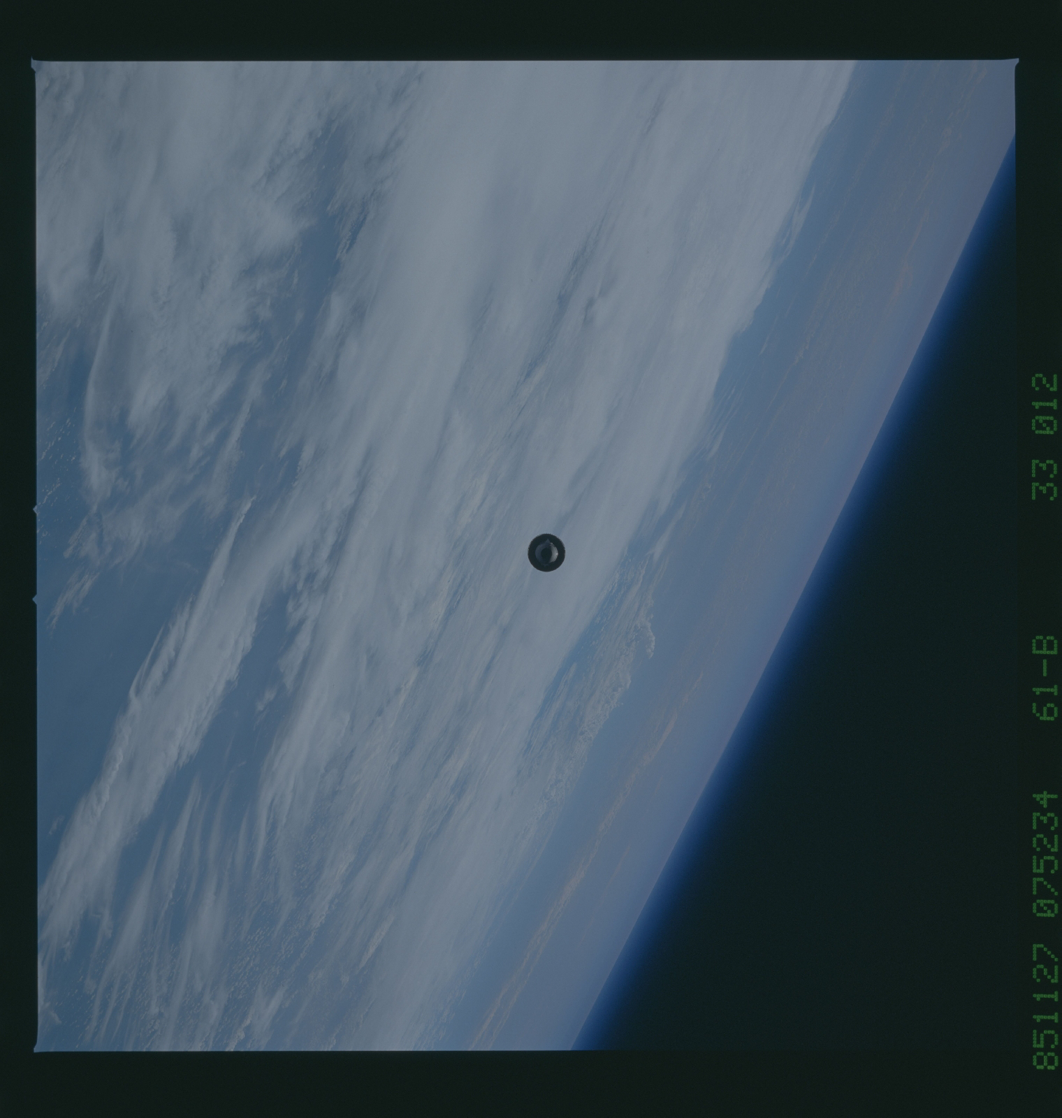 The-image-shows-the-UFO-satellite-as-it-is-in-space.