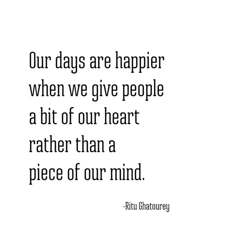 a bit of our heart -- rita ghatourey