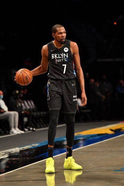 10). Kevin Durant — Basketball 🏀
