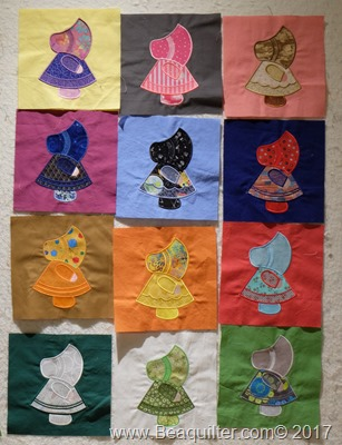 sunbonnet blocks