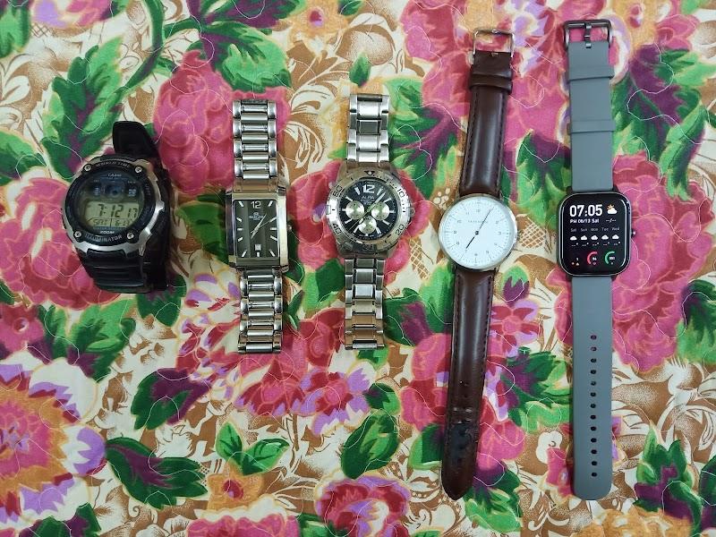 Koleksi jam tangan peribadi