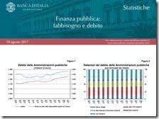 Finanza pubblica. Agosto 2017