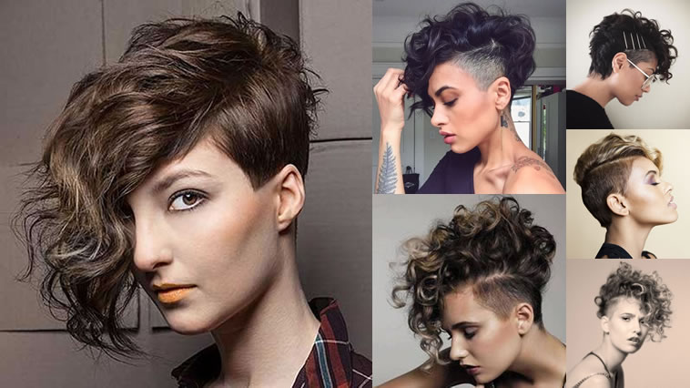 Pixie Cut Hair Tattoo