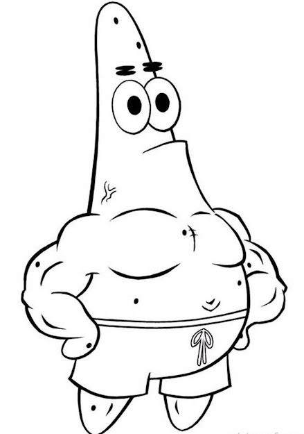 Coloring Pages Spongebob Patrick Star