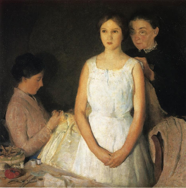 Charles Webster Hawthorne - The Trousseau