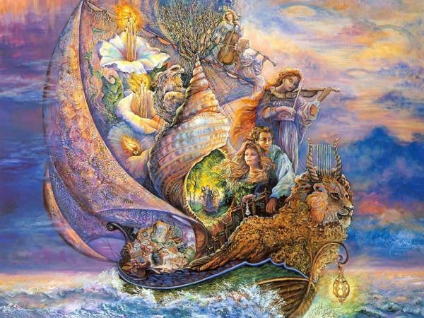 Magical Ship Of Sea, Magical Landscapes 1