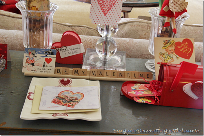 Valentine Cards tied with string
