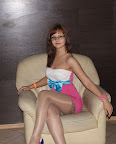 Cute Chick With Glasses And Pantyhose