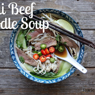 Thai Beef Noodle Soup Recipes.