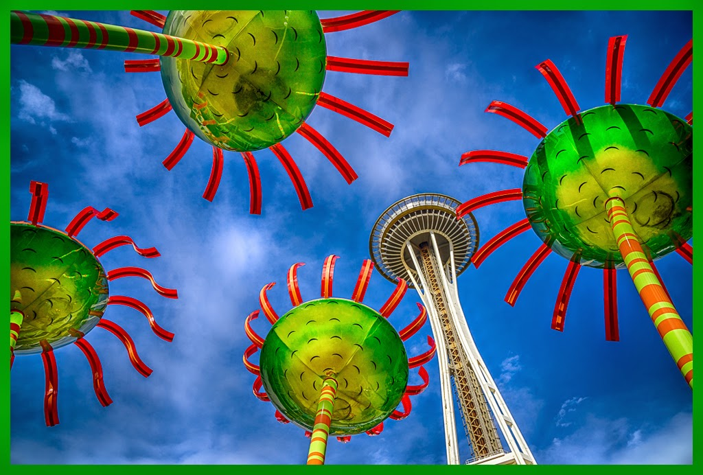 """Looking up in Seattle"" by Tim Snyder - 2nd Place General M"