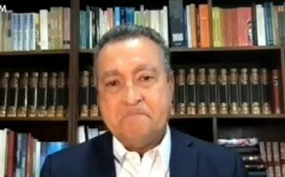 Governador se emociona ao falar sobre aumento de mortes pela Covid